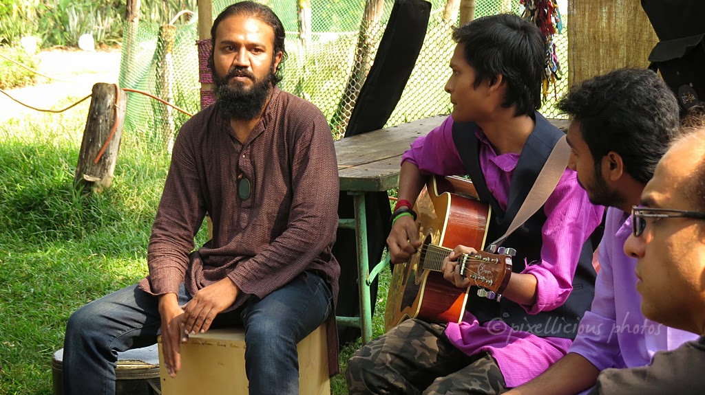 A musical Group at Farmers Market, Maharashtra Nature Park