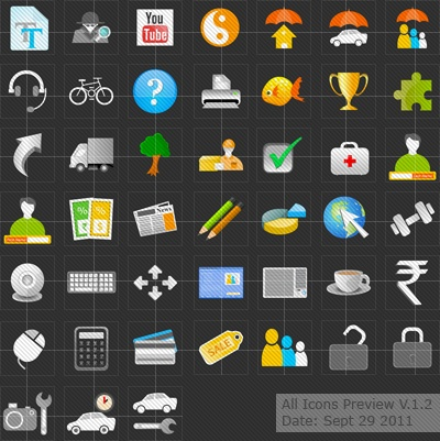 Free Vector Icons Download | Icon Pack V.1.2