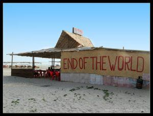 Beach Shack, End of the world