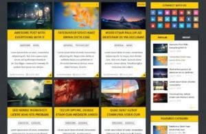 Free Gridblog Responsive WordPress Theme