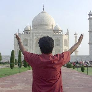Bhuvan Gupta at Taj Mahal, Agra