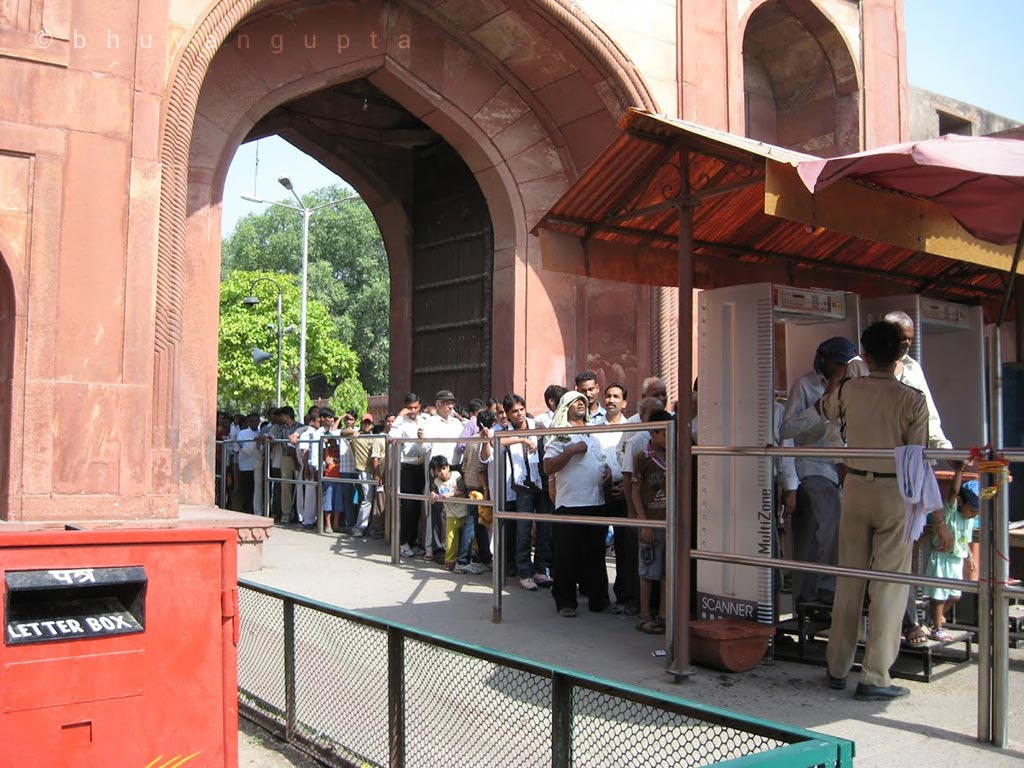 Taj Mahan Entrance Queue