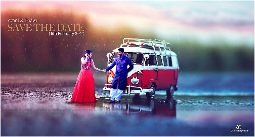Miniature Concept - Pre Wedding SHoot