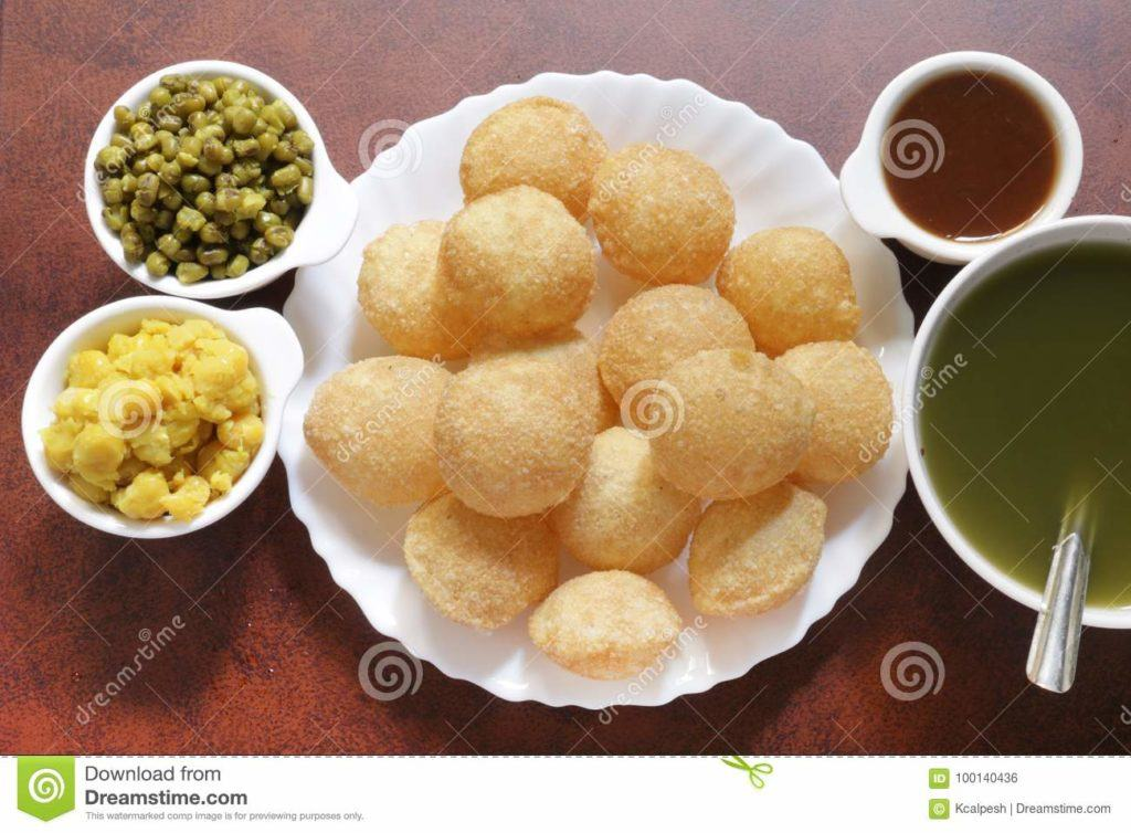 Indian Food Images - Pani Puri
