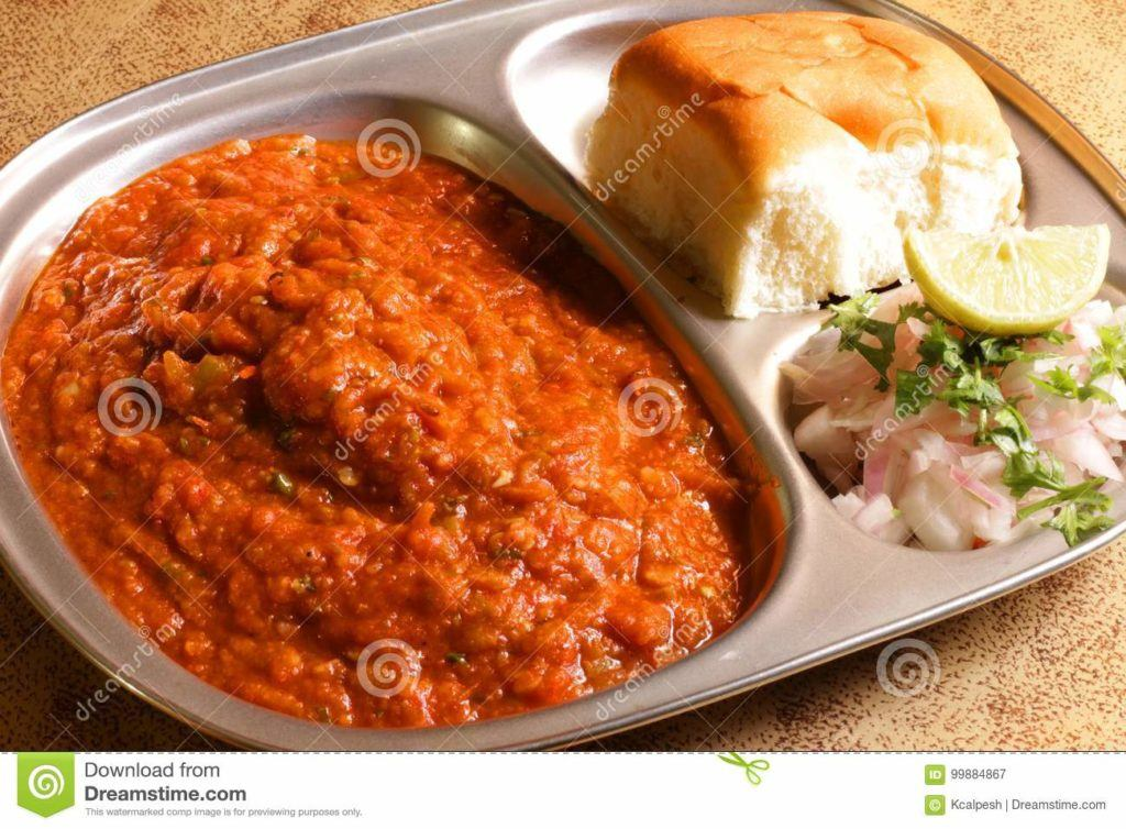 Indian Food Images - Pav Bhaji