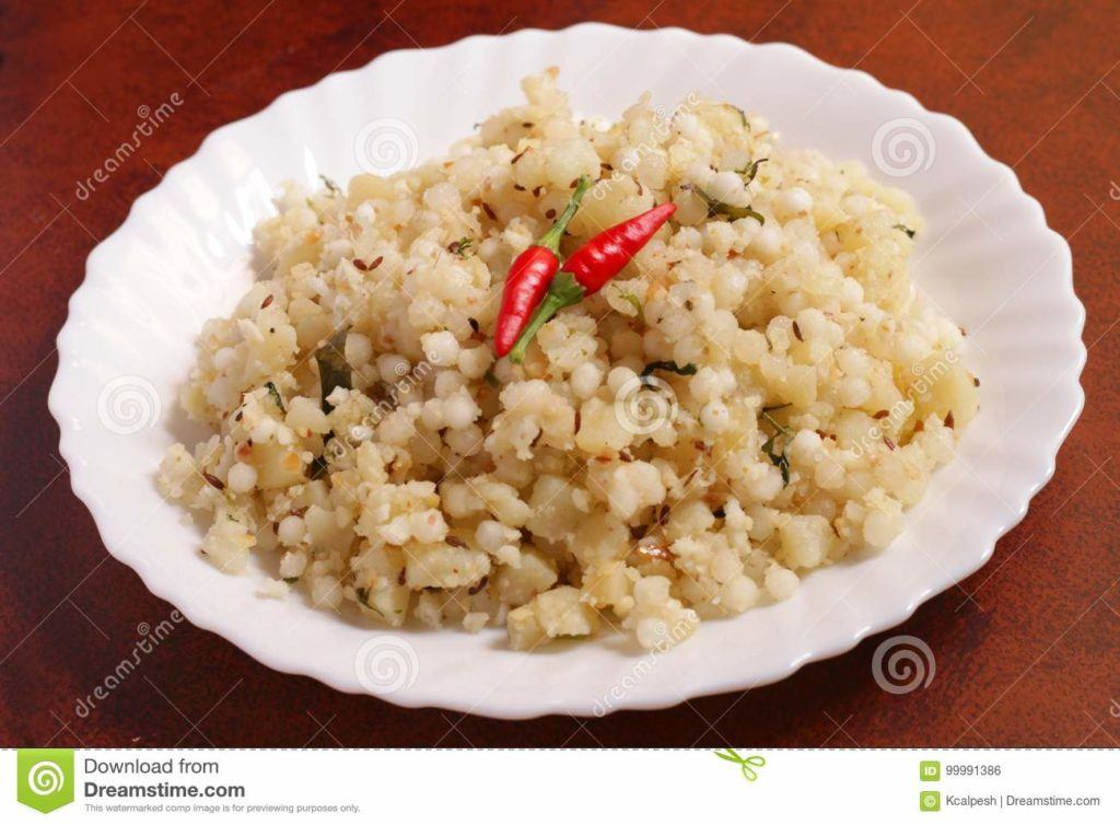 Indian Food Images - Sabudana Khichdi