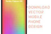 Vector Mobile Phone Design - EPS