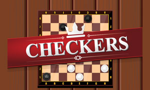 Classic Checker Game Online
