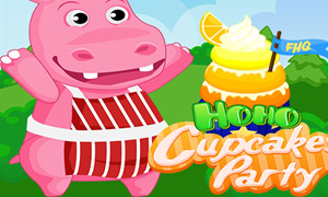 Hoho's Cupcake Party Online Game