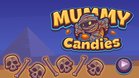 Mummy Candies Game Online