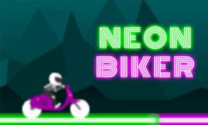 neon-biker-game