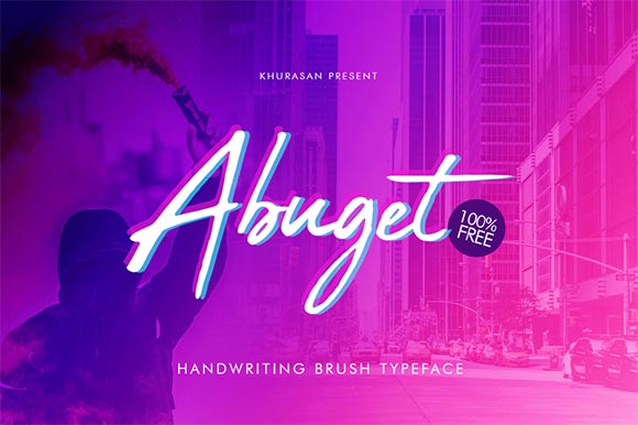 abuget-cursive-font-free-commercial