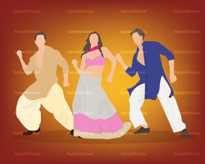 Bollywood Vector Stock Images