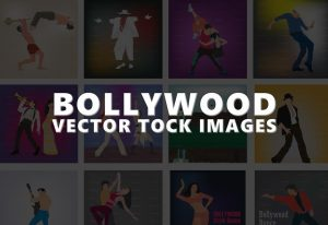 Download Bollywood Vector 20 Pack
