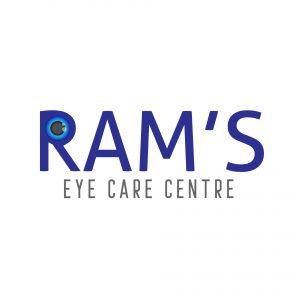 Free Eye Logo Starting Letter R