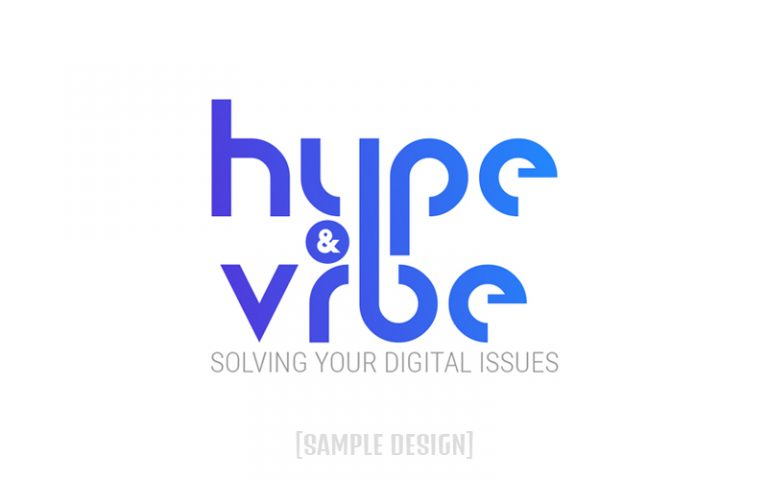 Sample Logo for Client Hype & Vibe