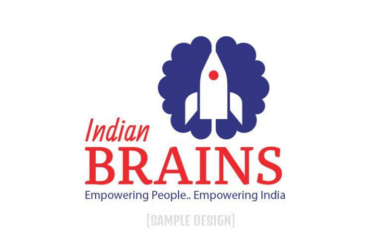 Sample Logo for Indian Brainz
