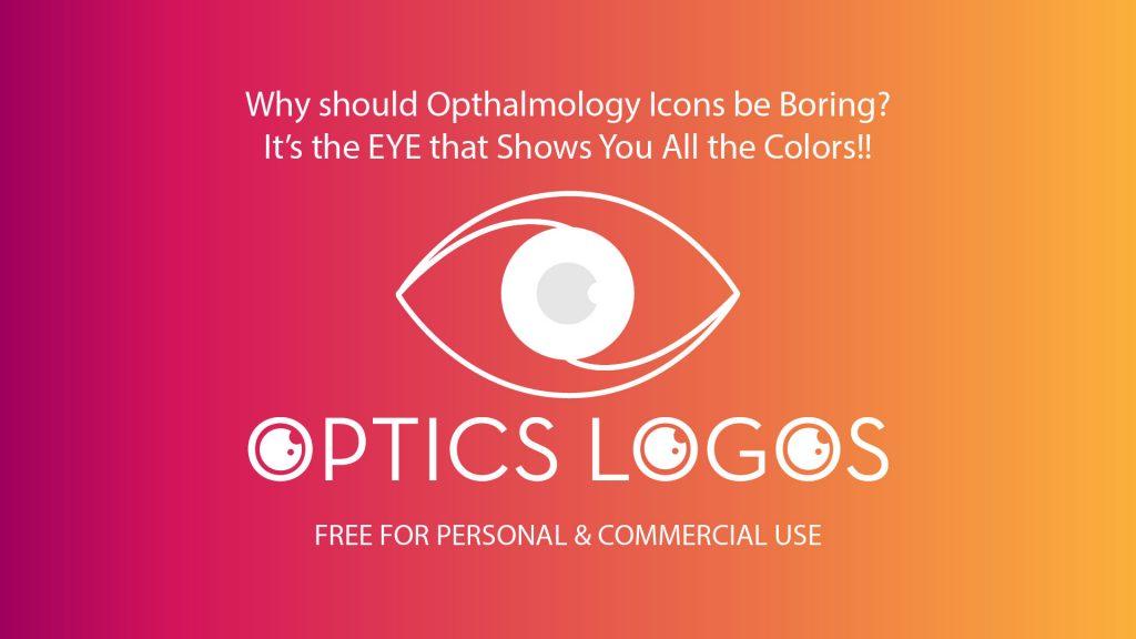 free-opthalmology-optician-logo-templates