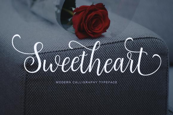 sweetheart-hand-written-font