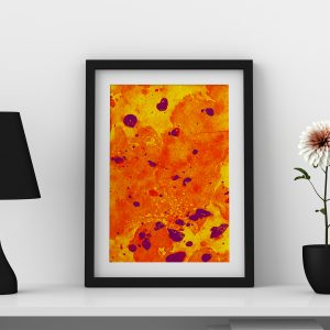 abstract2-water-color-style-framed-art