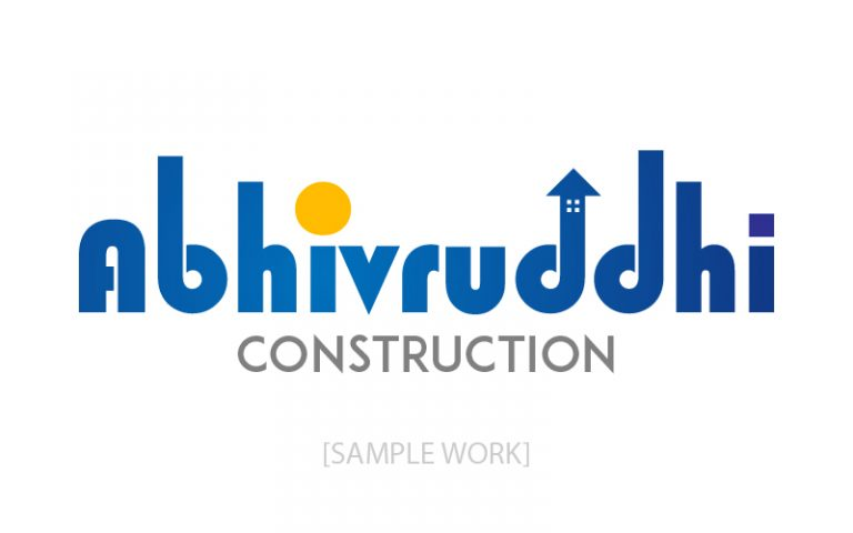 abhivruddhi-construction-logo-pixellicious-designs