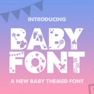 Baby Display Font Download