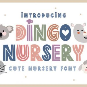 Dingo Nursery Display Font Download
