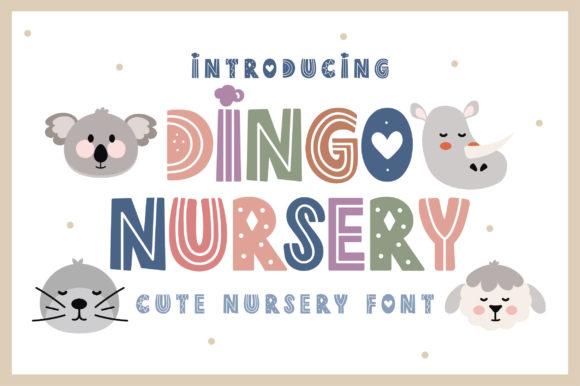 Dingo Nursery Display Font Download