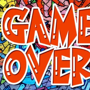 Game Over Display Font Download