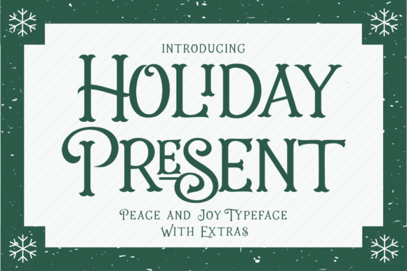 Holiday Present Display Font