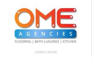 ome-agencies-sample-logo-pixellicious-designs