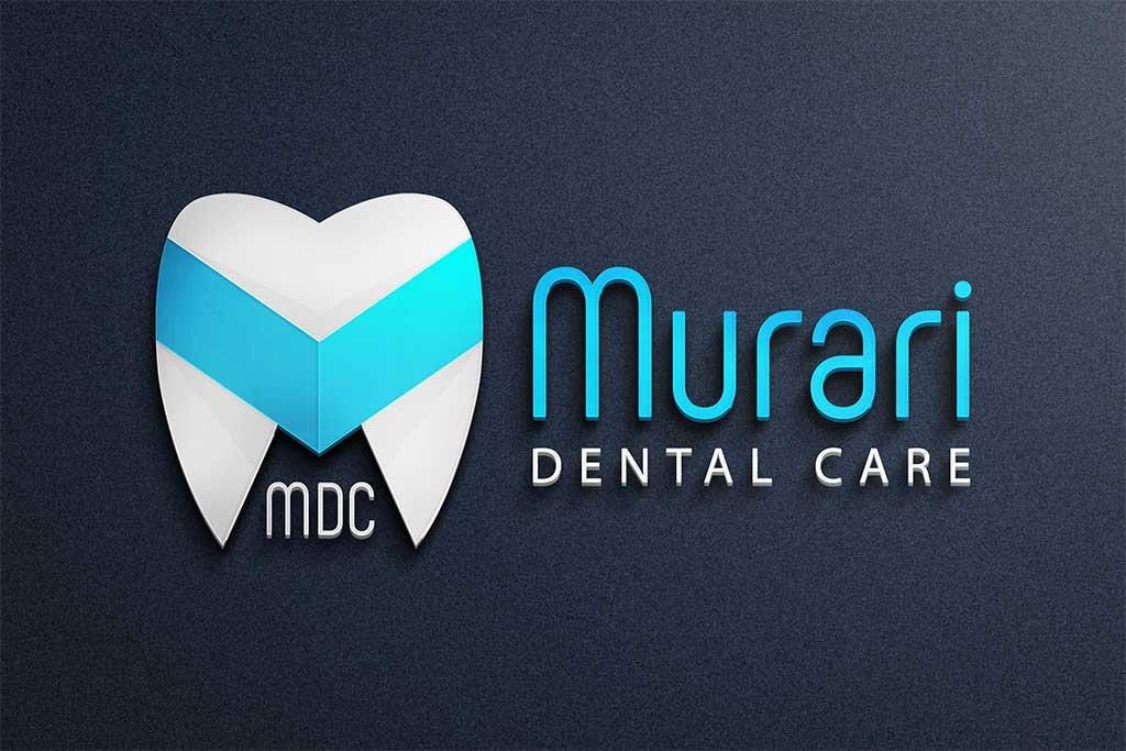 murari-dental-logo-by-pixellicious
