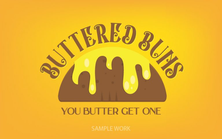 Buttered Buns Sample Logo