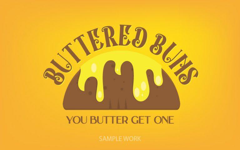 Buttered Buns Sample Logo