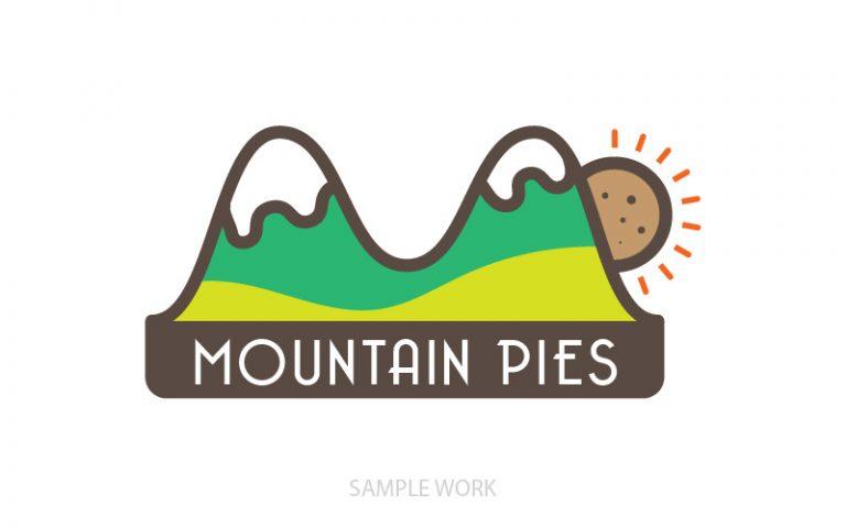 Mountain Pies Logo - Pixellicious